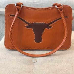 Leather Purse - Texas Longhorns